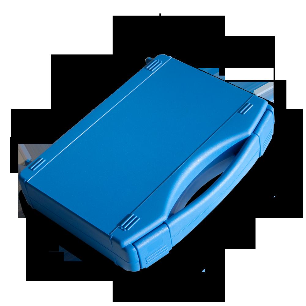 Chakra Stimmgabel-Basisset, Stimmgabelkoffermaße 23,5 x 19,0 x 4,8 cm