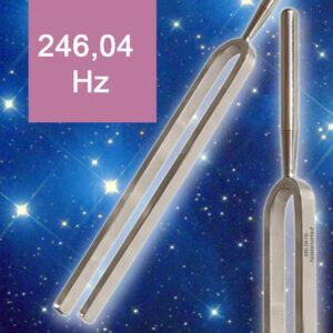 Stimmgabel Apsidenumlauf 246,04 Hz