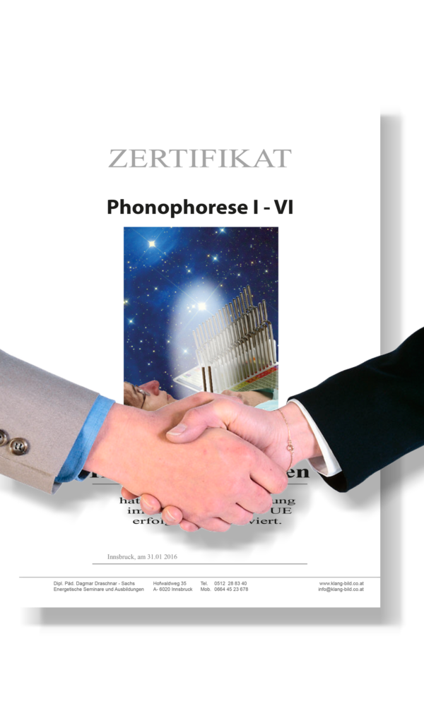 Stimmgabelausbildung Zertifikat Phonophorese