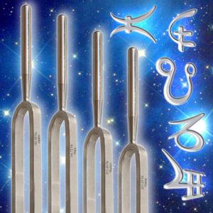 Astrologische - Stimmgabeln